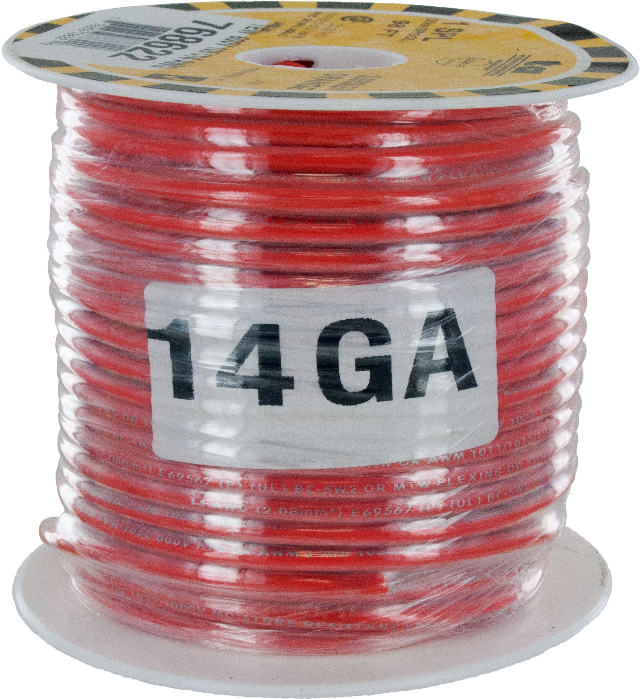 MTW Stranded Wire 14 Awg Orange