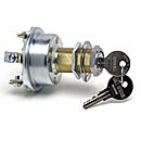 "3POSITION:ON-OFF-ON, 15A@12VDC, TUMBLER LOCK, STEM 13/16""-24 THREAD"