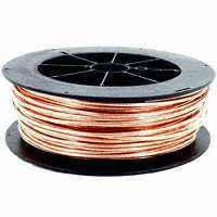 BARE COPPER SOLID WIRE, 6AWG, 316' ROLLFT (BSOS6)