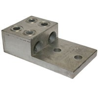 ALUMINUM MECHANICAL LUG 300-800 2CON 2HOLE