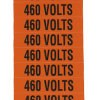 "VOLTAGE MARKER 18MARKER/CARD 1/2""x2-1/4"" 460V"