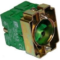 2 N/O Contact Block Push Button Assembly RB2BZ103