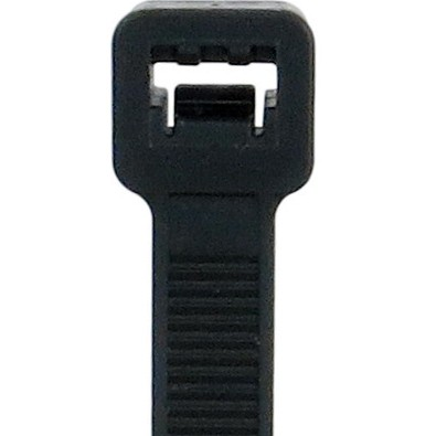 """24"""" Black Cable Zip Ties L-24-120-0-L Heavy-Duty Cable Ties"""