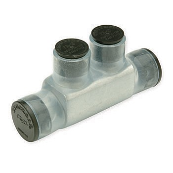 IISR500 CLEAR INSULATED SPLICER REDUCER 500MCM TO #2