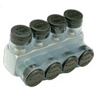 Penn-Union IPBNA2504S Insulated Multi Tap Connector 4 Conductor 250MCM