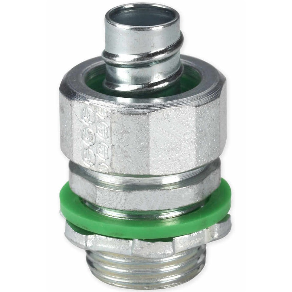 """3/4"""" Liquid Tight Conduit Fittings with Insulated Throat"""