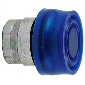 Booted Push Button Actuator Blue RB2BP6
