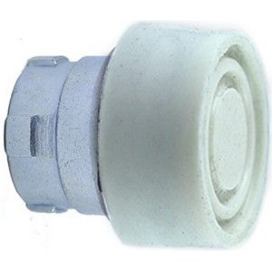White Booted Push Button Actuator RB2BP1