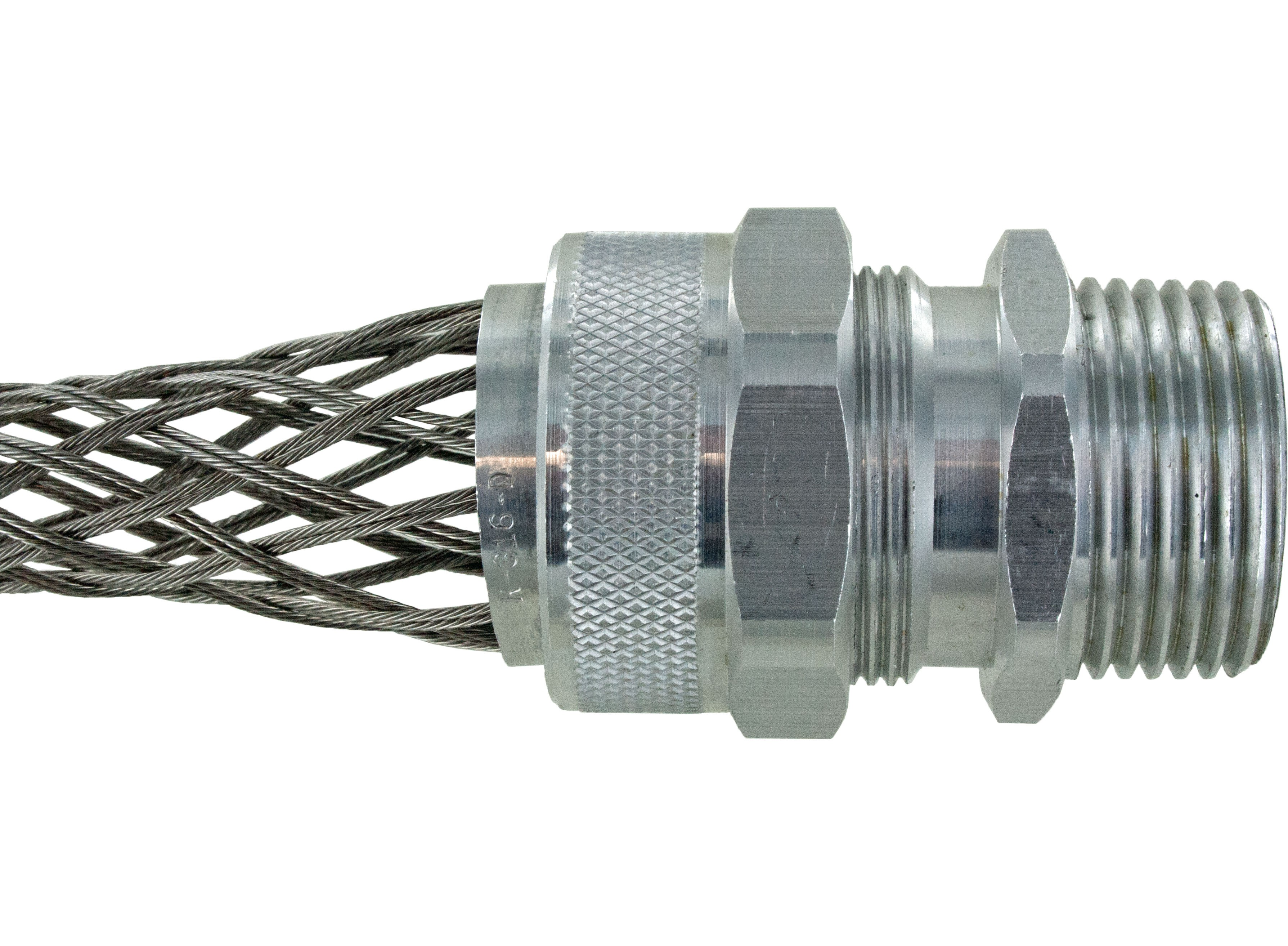 "Aluminum Cord Grip 1"" .562-.688"" With Mesh RSR-311-E"