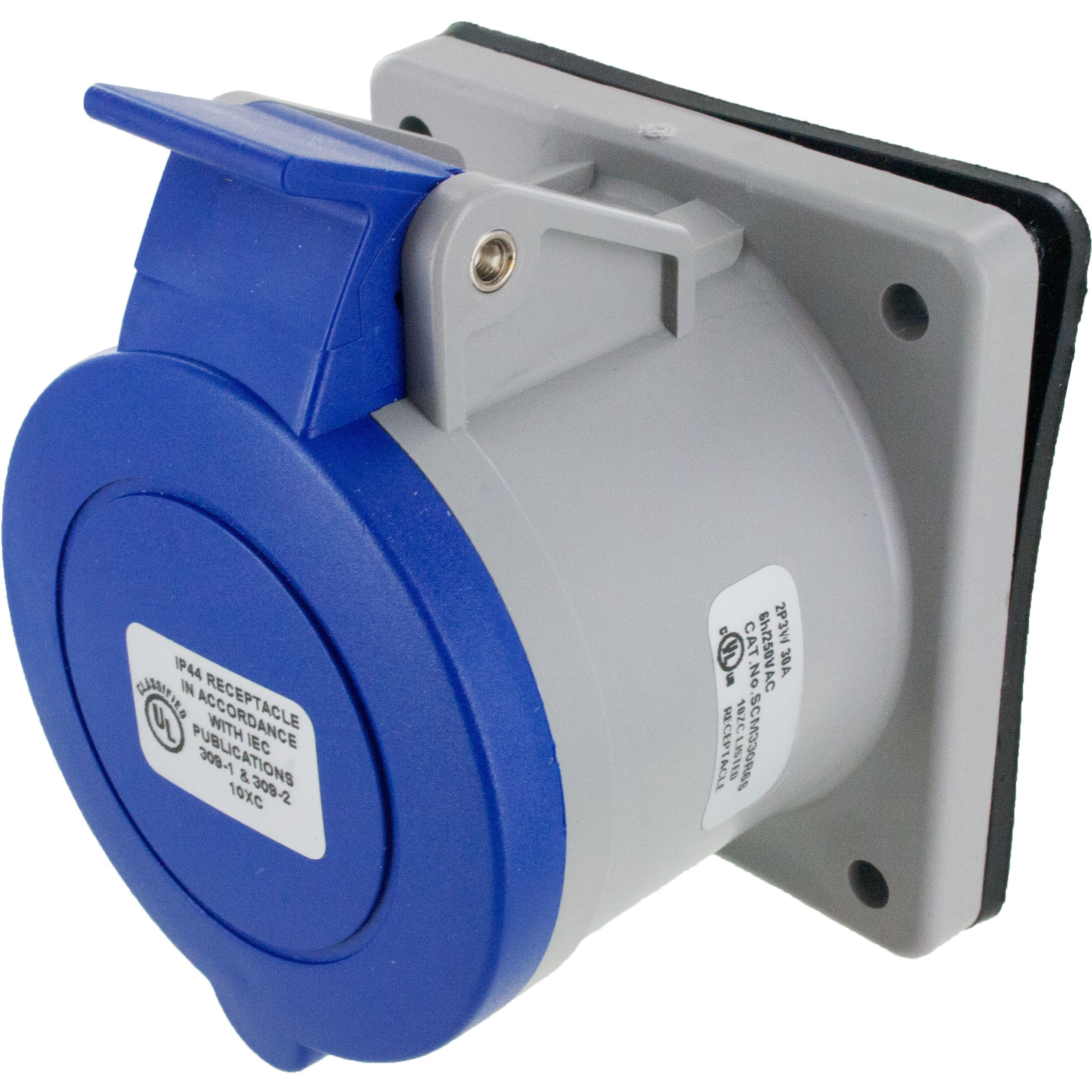 330R6S Pin And Sleeve Receptacle 30 Amp 2 Pole 3 Wire