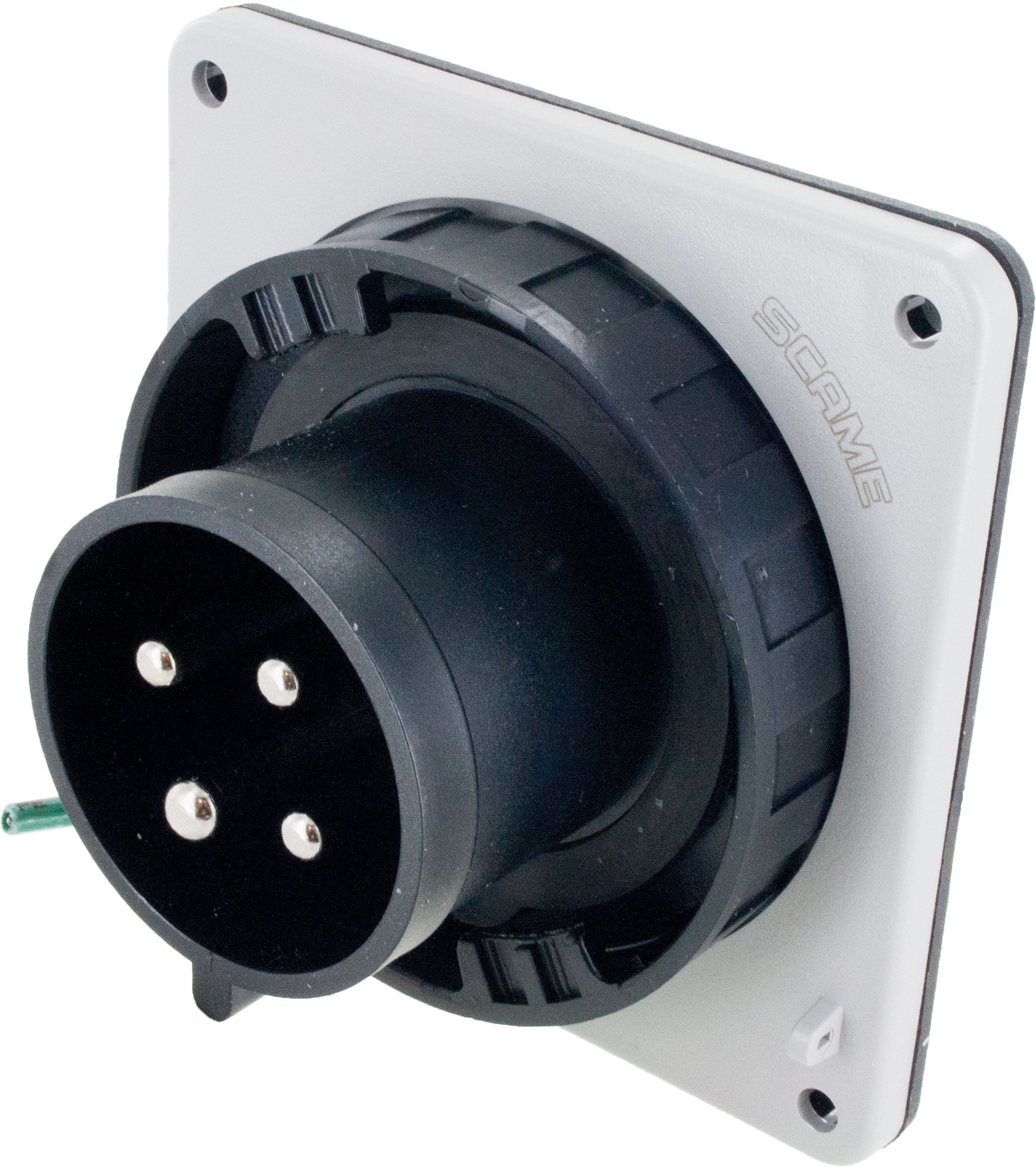 430B5W Pin And Sleeve Inlet 30 Amp 3 Pole 4 Wire