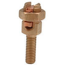 Service Post Connector Male One Cable #10 - #4 AWG Long Post