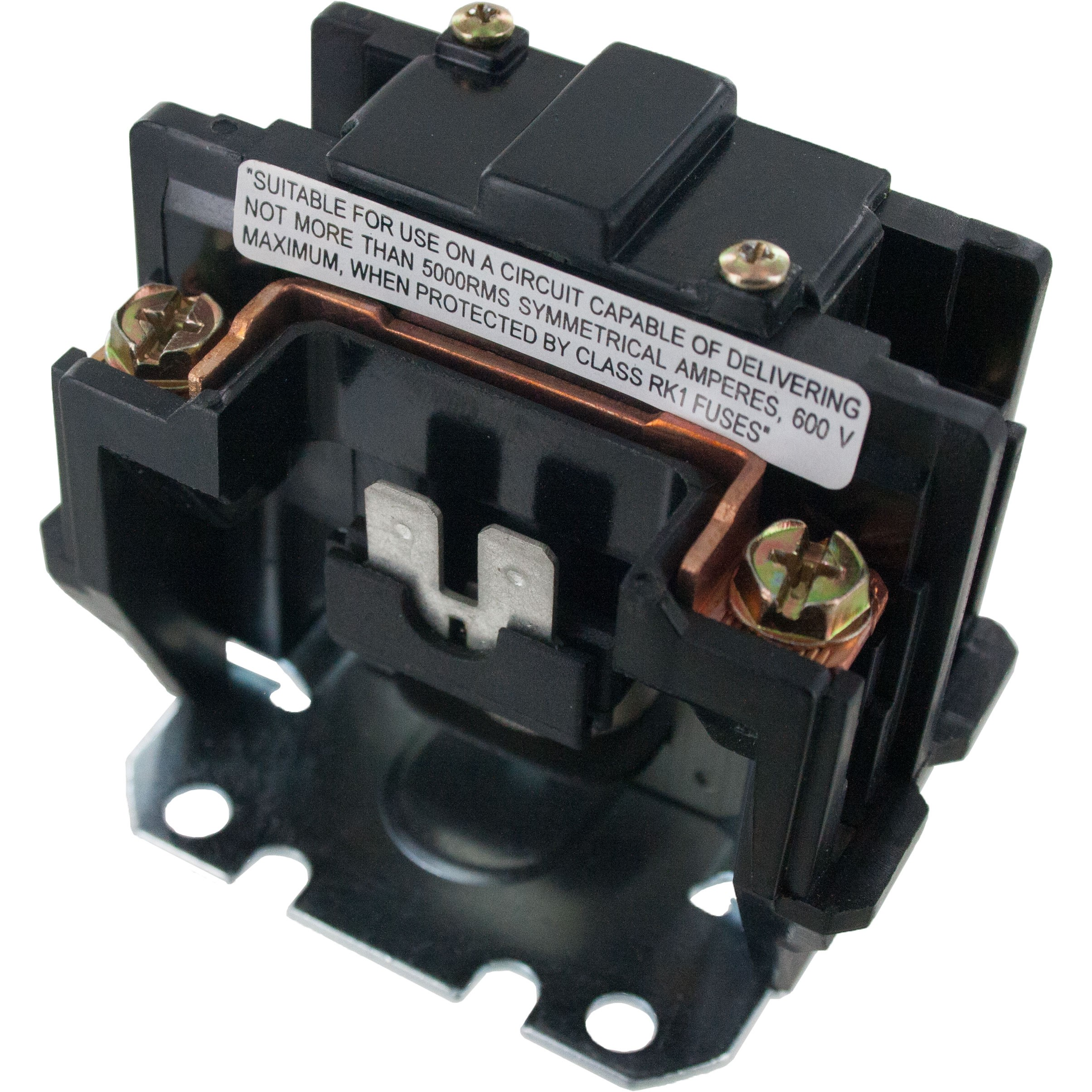 1 Pole Contactor 40 Amp 120VAC Coil With Shunt