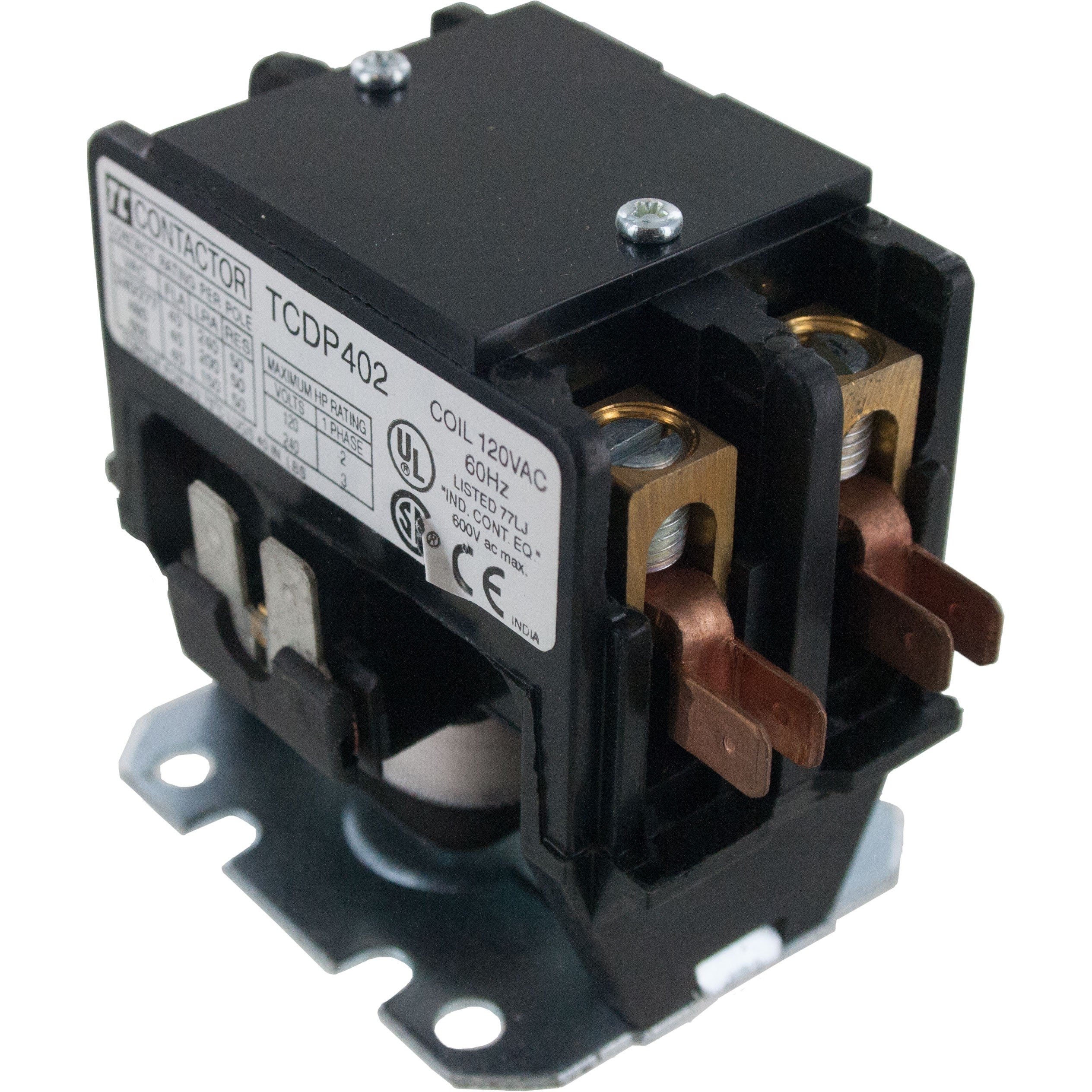 2 Pole Contactor 40 Amp 240VAC Coil
