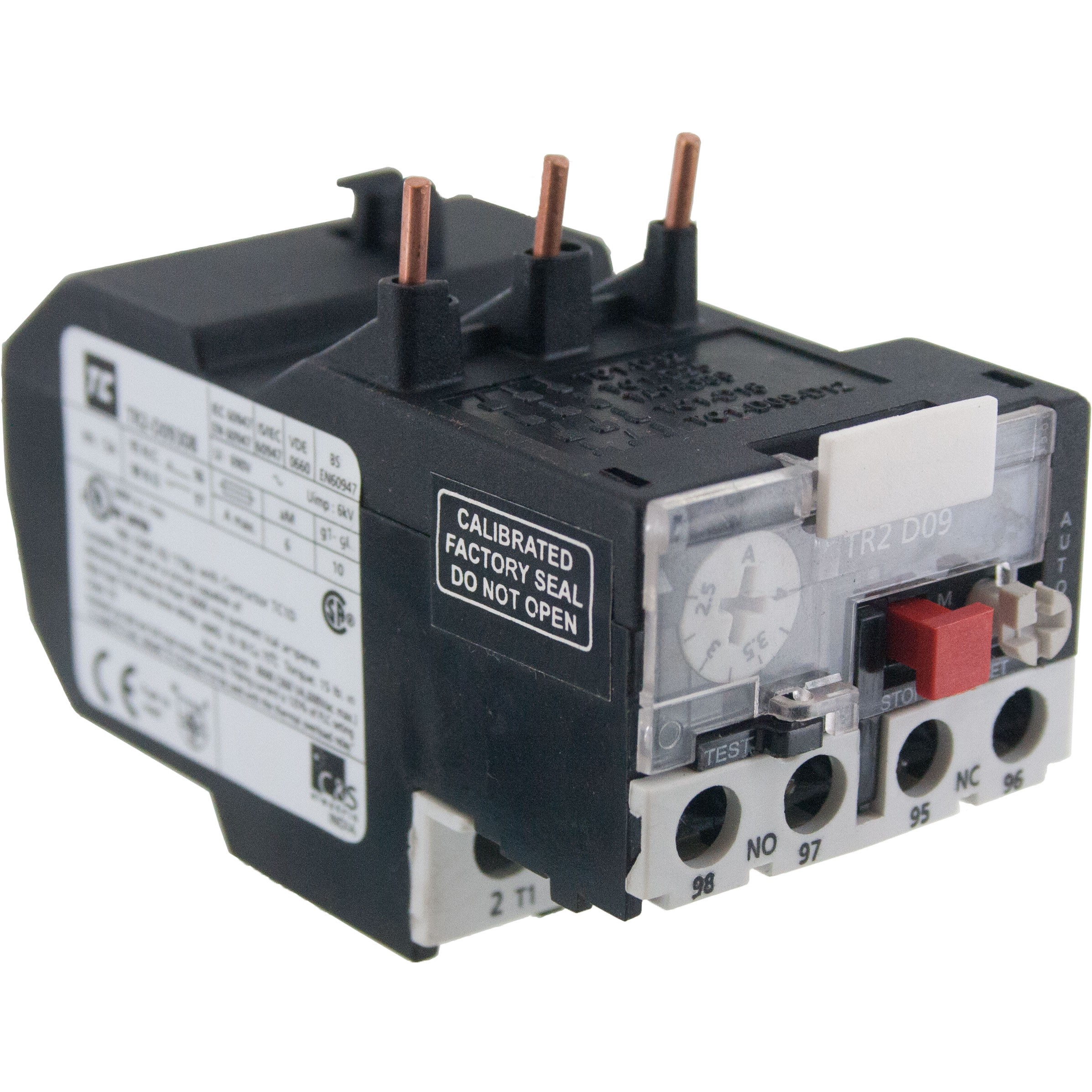 Thermal Overload Relay for Contactor 7-10 Amp Setting
