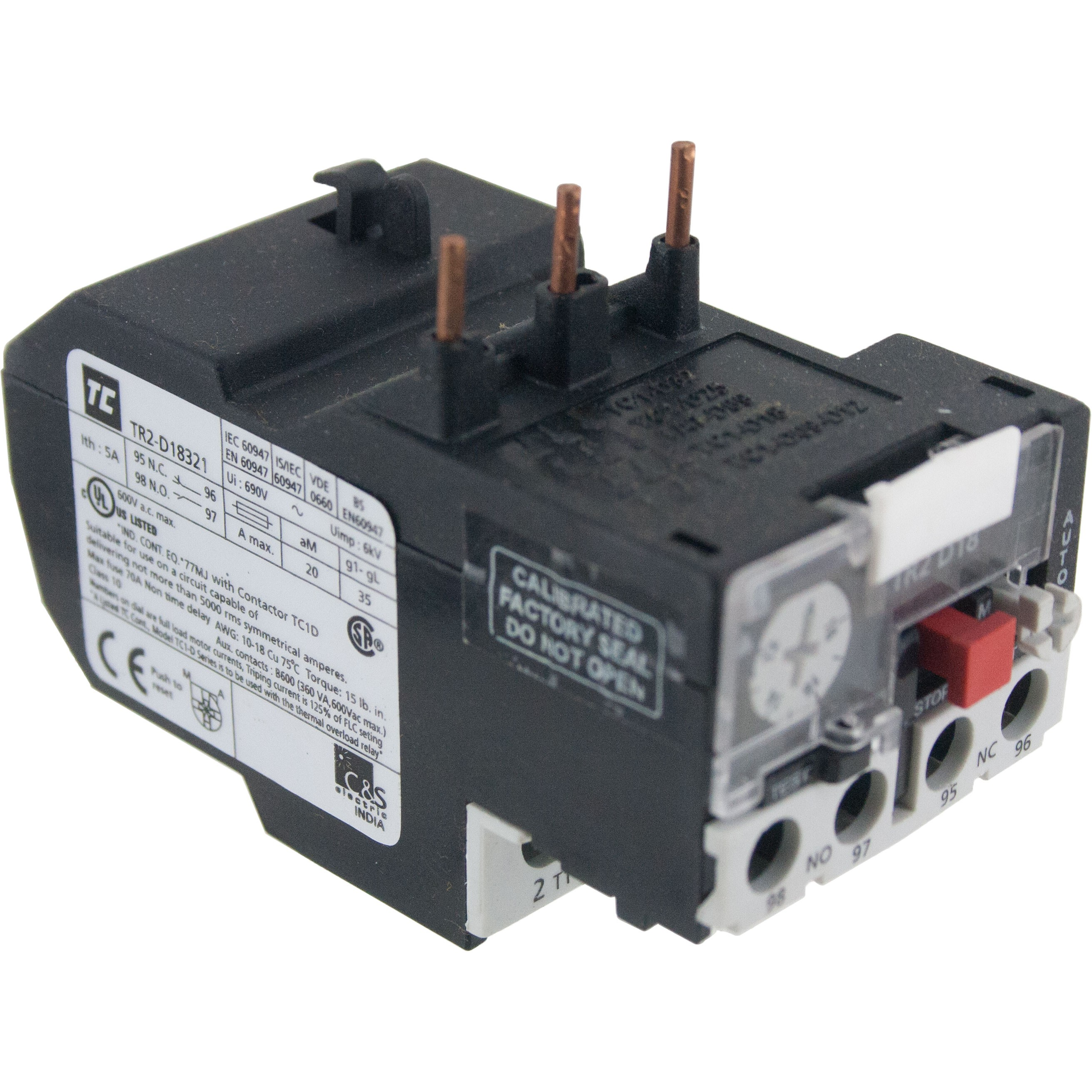 Thermal Overload Relay 12.00-18.00 Amp