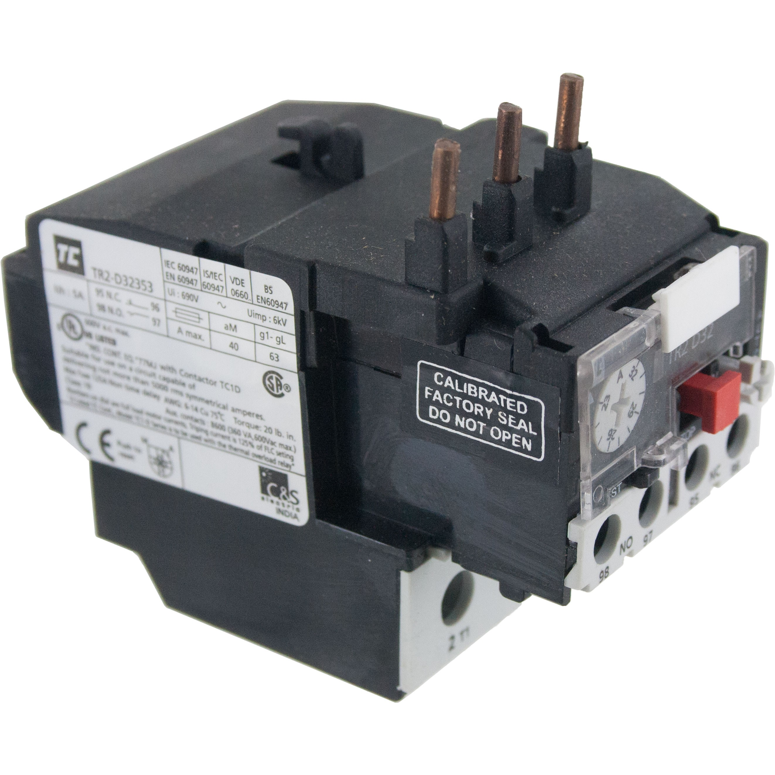 Thermal Overload Relay 23.00-32.00 Amp