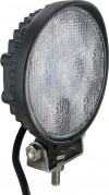 Round Tractor Utility Lamp LED 1800 Lumens 18 Watts Angle