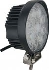 Round Tractor Utility Lamp LED 1710 Lumens 30 Degree 27 Watts Angle