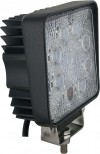 Square Tractor Utility Lamp LED 1520 Lumens 24 Watts Angle