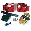 "RED, SUBMERSIBLE, W/TAIL LAMPS, HARNESS & LICENSE PLATE BRACKET FOR 80"" WIDE"