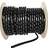 "SRPE1250C is 1/8"" black spiral wrap 100ft roll"