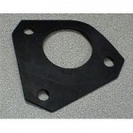 NEOPRENE RUBBER GASKET FOR 3 HOLE MOUNT DIE CAST SOCKETS (CAN USE AS TEMPLATE)