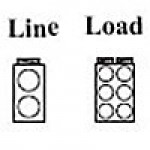 POWER DISTRIBUTION BLOCK, LINE 2/0-14AWG 2 OPENING, LOAD 4-14AWG 6 OPENING, 1POLE (AS-K2-H6)