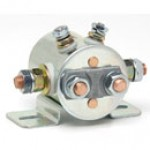 DPST, CONTINUOUS DUTY, 36V, INSULATED, 4STUD