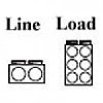 POWER DISTRIBUTION BLOCK , LINE 2/0-14AWG 2 OPENING, LOAD 2-14AWG 6 OPENING, 1POLE (AM-K2-I6)