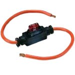 INLINE FUSE/BREAKER HOLDER, MINI, ACCEPTS 2A-30A, UP TO 32V@30A
