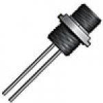 """MICRO LINK, 4POLE, MALE MATING RECEPTACLE 1/2"""" NPT, 12"""" LEADS, 22 AWG PVC"""