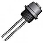 """MICRO LINK, 3POLE, FEMALE MATING RECEPTACLE 1/4"""" NPT, 12"""" LEADS, 22 AWG PVC"""