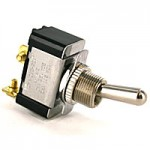 Toggle Switch SPST On-Off 2 Screws Light Duty