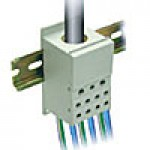 ONE PHASE POWER DISTRIBUTION BLOCK, 250A, INPUT 1x2-4/0AWG