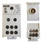 ONE PHASE POWER DISTRIBUTION BLOCK, 160A, INPUT 1x8-2/0AWG