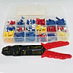 ECONOMY TERMINAL ASSORTMENT KIT 175PC PLASTIC BOX