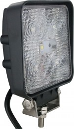 Square Tractor Utility Lamp LED 1500 Lumens 15 Watts Angle