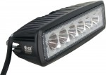 Rectangle Off Road Utility Lamp LED 1260 Lumens 18 Watts Angle