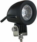 Round Tractor Utility Lamp LED 750 Lumens 10 Watts Angle