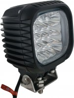 Square Tractor Utility Lamp LED 4800 Lumens 48 Watts Angle