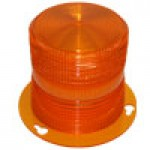 REPLACEMENT AMBER POLYCARBONATE LENS FOR P/N 745285