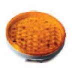 "4"" DIAMETER ROUND, AMBER, TURN/TAIL, 56-DIODES, DOUBLE CONTACT"