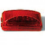 """1"""" X 2"""" RECTANGULAR, RED, 6-DIODES, SINGLE CONTACT"""
