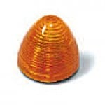 """2"""" DIAMETER BEEHIVE, AMBER, 8-DIODES, SINGLE CONTACT"""
