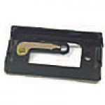 """ADAPTER MOUNT FOR RECTANGULAR 1"""" X 2"""", BLACK, W/BUILT IN GROUND CONNECTION, 1 BULB, SEALED UNIT, ABS"""