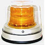 "LED, AMBER, 7 1/2"" H X 8 3/4"" ALUMINUM BASE, MOUNTING BRACKET, DUST COVER, 12-30 VOLTS, .87 AMPS"