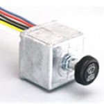 DYNAMIC PARKING, 1 MOTOR, 12VDC, 6 CODED WIRE LEADS, ROUND KNOB, IMPRINTED WITH SAE WASHER-WIPER SYMBOL