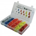 Screw On Wire Connector Assortment Kit 5 Color Sizes 475 Pieces