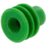 Delphi 12015323 OEM 20-18 Awg Green Silicone Seal Angle